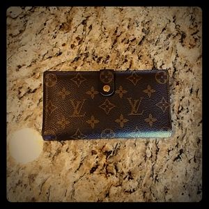 Authentic LV long wallet